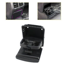 Rear Armrest Black Central Console Cup Holder for VW Jetta MK5 Golf MK6 GTI EOS