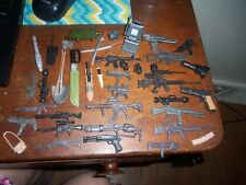 Lot Small Plastic Toy Weapons & Other Knife Pistol Rifle Guns  +++