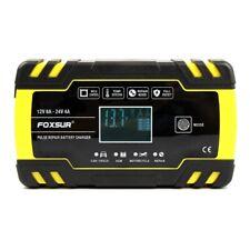 FOXSUR 12V 8A 24V 4A Puls Reparatur LadegeräT mit LCD Display, Motorrad und NYT