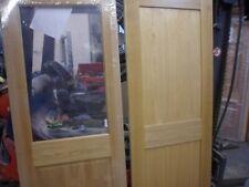 wooden  oak internal doors x  6