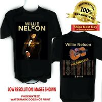 Willie Nelson 2019 Concert Tour t shirt  S to 6X