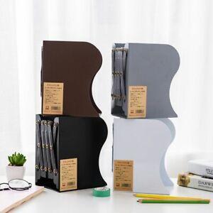Expandable Bookend Adjutable Desktop Metal Book Rack Hand Coating School Supply
