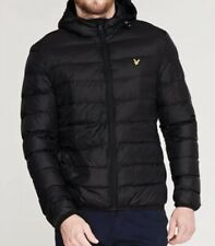 Lyle and Scott Lightweight Puffer Men's Black Jacket Size XL. New without Tags.