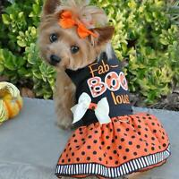 Doggie Design Fab Boo Lous Holiday Dog Harness Dress