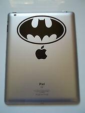 1 x Decalcomania del Logo di BATMAN-Adesivo Vinile per Ipad MacBook Tablet Animale FUMETTO bat