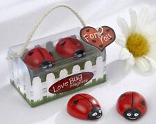 Love Bug Ladybug Magnets Bridal Shower Wedding Favors