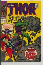 Mighty Thor #142 (1967) Very Fine Minus VF- (7.5) Marvel Comics