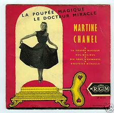 45 RPM EP MARTINE CHANEL LA POUPEE MAGIQUE
