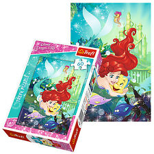 Trefl 60 Piece Kids Girls Disney Princess Ariel & Friends Jigsaw Puzzle NEW