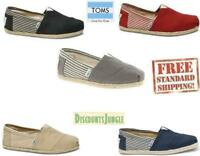 Toms  Mens Classic shoes  University  Rope Slip-On  Authentic NEW WITHOUT BOX