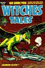 Witches Tales 28 Comic Book Cover Art Giclee Reproduction on Canvas