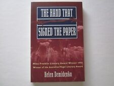 THE HAND THAT SIGNED THE PAPER - HELEN DEMIDENKO ( DARVILLE )