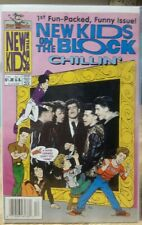 New Kids On The Block Chillin' Issue # 1 December 1989 Harvey Rockomics NM-MINT