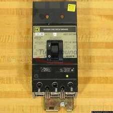 Square D KH36225 Circuit Breakers, 225 Amp, I-Line, Used