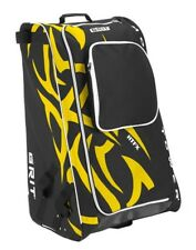 "Grit Inc HTFX Hockey Tower 36"" Wheeled Equipment Bag Yellow HTFX036-BO (Boston)"