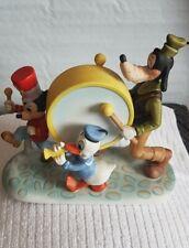 Walt Disney productions marching band figurine