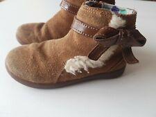 UGG girls Brown Leather Infant Shoes Size UK 9