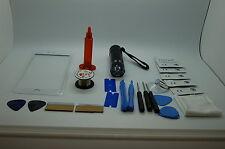 iPhone 7 Plus White Front Glass, Screen Repair Kit, Wire, Loca Glue, UV Torch