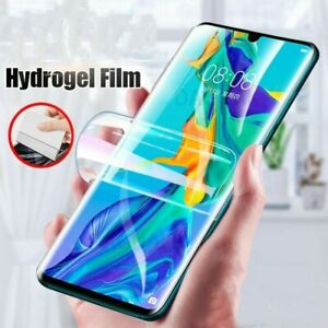 Screen Protector For Huawei P30 Pro P20 nova 5T P40 Full Cover Hydrogel Film