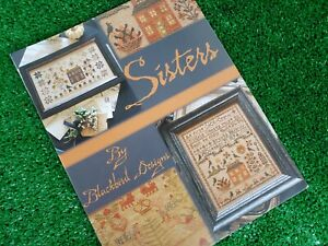 Sisters - Cross Stitch Patterns Book by Blackbird Designs - 5 Projects
