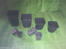 Plastic Square Flower & Plant Pots Boxes
