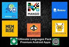 Duolingo | Mango | Busuu | Memrise | Beelinguapp | LingoDeer App | Android Apps