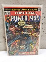 Luke Cage Power Man No. 18 1st Appearance of Steeplejack Marvel 1974 FN