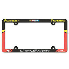 CLINT BOWYER #15  5-HOUR ENERGY NASCAR LICENSE PLATE FRAME