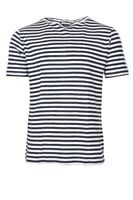 Eleventy T-Shirt Herren XXL Dunkelblau Linen   Gestreift