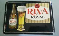 Glacoide bière Riva Royal Ancien publicitaire