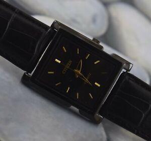 Vintage Citizen Quartz Wrist Watch For Men's Wear W-14184