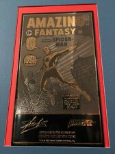 Marvel Limited Amazing Fantasy #15 24k Gold and Sterling Silver Limited 1000 TK