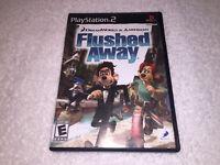 Flushed Away (Sony PlayStation 2, 2006) PS2 Black Label Complete Excellent!