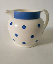 "30s Krug Schwandorf Keramik ""Blaupunkt""  art deco ceramic jug cruche annees 30"