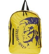 Diesel ONLY THE BRAVE Mohawk Yellow Backpack School Laptop