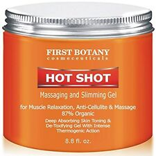 Gel Hot Shot Slimming and Anti Cellulite Massaging Muscle Relaxation 8.8 oz