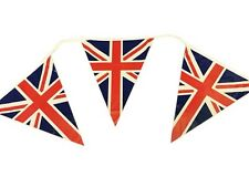 British Union Jack GB Triangle Bunting Banner Great Britain UK Party Sports 12ft