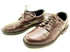 Deer Stags Men's Times Oxford, Brown Smooth, Size 9.5 M US