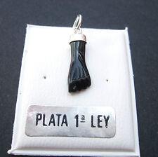COLGANTE MANO PUÑO HIGA FIGA BLACK PEQUEÑA PLATA DE LEY 925 AMULETO