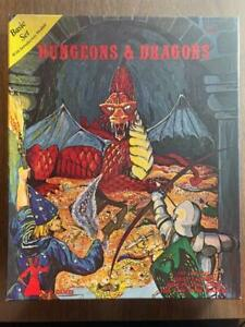 TSR Dungeons & Dragons (D&D) Basic Set 7th Print.Sutherland Cover Missing Manual