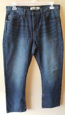 WRANGLER Jeans Men's 36X34 Blue Original Relaxed Boot