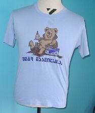 Kokanee Beer VINTAGE Bear Essentials Promo T-Shirt L Glacier Pilsner