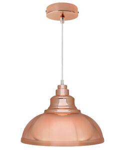 Vintage Industrial Metal Ceiling Pendant Shade Modern Hanging Retro Light M0153