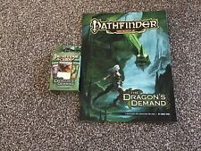 Pathfinder Module - The Dragons Demand & Campaign Cards - RPG Roleplay