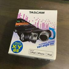 TASCAM IM2X  X-Y stereo condenser microphones for iPhone.