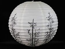 "16"" Chinese Japanese Paper Lantern Good Luck Bamboo Wedding Decor"