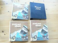 More details for 3 x collecta postcard albums & 1 other  - all with lots of insert sleeves