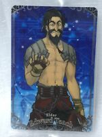 Fate Grand Order FGO Wafer Card Vol.4 No.06 Rider Edward Teach