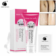 Unisex Permanent Hair Removal Cream for Leg Pubic Armpit Depilatory Paste 80g US