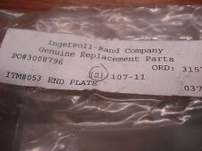 Ingersoll Rand 107-11 End Plate  (Lot of 2)  NEW